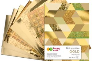 Blok GOLD A4/10ark Happy Color GDD