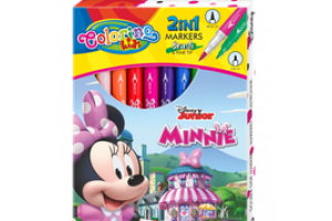 Pisaki 10kol.dwustronne Disney Minnie 90669 Patio