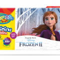 Plastelina 12 kol.Disney FROZEN II 91048 Patio