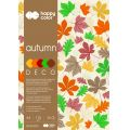 "Blok Deco A4/20ark.""AUTUMN""5kol.170gr.Happy Color ..."