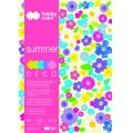 "Blok Deco A4/20art.""SUMMER"" 5 kol.170g.Happy Color..."