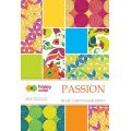 "Blok ozdobny efekt""PASSION""Happy Color GDD"