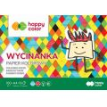 Blok Wycinanka, A4/10 ark, 100 g, Happy Color GDD